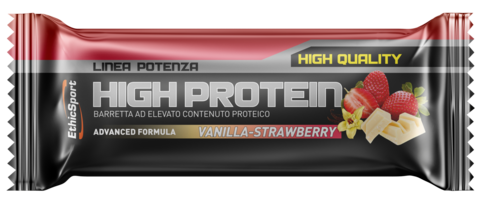 HIGH PROTEIN Vanilla-Strawberry - 18 pcs box
